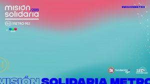 Misión Solidaria: ¡este miércoles necesitamos de tu ayuda! #MisionMetro